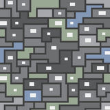 Nahtloses Muster des Vektors von Formen Stockfotos