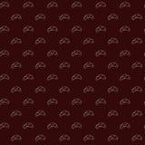 Nahtloses Muster des Vektors von Hörnchen Lizenzfreies Stockfoto