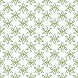 Nahtloses Muster des Vektors von unbedeutenden Blumenblättern vektor abbildung