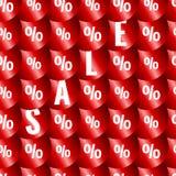 Nahtloses Muster des Verkaufs Lizenzfreie Stockbilder