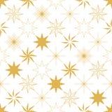 Nahtloses Muster des Weihnachtssternes Stockbilder