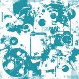 Nahtloses Muster Digital Vektor Lizenzfreie Stockbilder