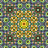 Nahtloses Muster drei Nawa Stockbild