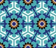 Nahtloses Muster drei Zufar Stockfotografie