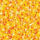 Nahtloses Muster Dreieck goldenen giltter Stückes vektor abbildung