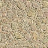 Nahtloses Muster eines Steins Stockfoto