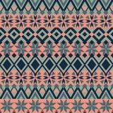 Nahtloses Muster Ethnische Bänder Boho Stammes- Artdesign Lizenzfreie Stockfotografie