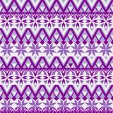 Nahtloses Muster Ethnische Bänder Boho Stammes- Artdesign Lizenzfreie Stockfotos