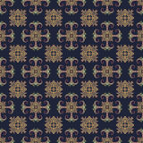 Nahtloses Muster Ethno Boho-Verzierung Dekorative Elemente der Weinlese Stammes- Kunstdruck, wiederholbarer Hintergrund Abstrakte Stockfoto