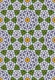 Nahtloses Muster fünf Abadan Stockbild