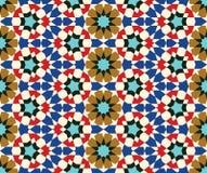 Nahtloses Muster fünf Taza Lizenzfreies Stockbild