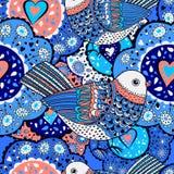 Nahtloses Muster für Design im Stil der Kinder Lizenzfreies Stockbild
