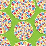 Nahtloses Muster für Sommer oder Frühlingsdesign Lizenzfreies Stockfoto