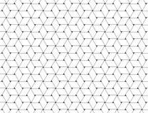 Nahtloses Muster flocht Papierstreifen-Weiß lizenzfreie abbildung