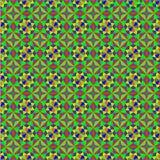 Nahtloses Muster in Form von geometrischem Mosaik Lizenzfreies Stockbild