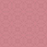 Nahtloses Muster - Gekritzel - Rosa Lizenzfreies Stockfoto