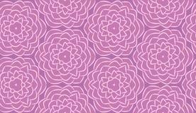 Nahtloses Muster gemacht von den Blumen stock abbildung