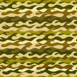 Nahtloses Muster gemacht von den Meereswellen stock abbildung