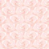 Nahtloses Muster gemacht von den Rosen lizenzfreie abbildung