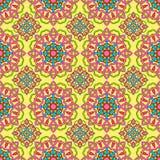 Nahtloses Muster gemacht von der abstrakten Mandala vektor abbildung