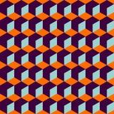 Nahtloses Muster geometrisch stock abbildung