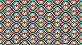 Nahtloses Muster geometrisch Empfindliche schöne Verzierung Geometrischer Modegewebedruck nSeamless Vektormuster lizenzfreie abbildung