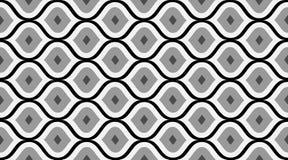 Nahtloses Muster geometrisch Empfindliche schöne Verzierung Geometrischer Modegewebedruck nSeamless Vektormuster stock abbildung