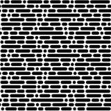 Nahtloses Muster, geometrischer Hintergrund Stockbild