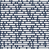 Nahtloses Muster, geometrischer Hintergrund Lizenzfreie Stockfotos