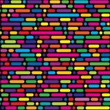 Nahtloses Muster, geometrischer Hintergrund Lizenzfreie Stockbilder