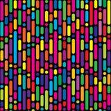 Nahtloses Muster, geometrischer Hintergrund Lizenzfreies Stockfoto