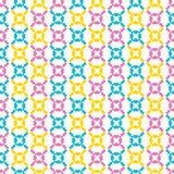 Nahtloses Muster geometrischer Retro- geo Form Alle ?ber Druckvektorhintergrund H?bsche Sommerf?nfziger jahre schn?ren sich Flies lizenzfreie stockfotografie