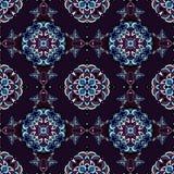Nahtloses Muster-geometrischer Vektor Lizenzfreie Stockfotografie