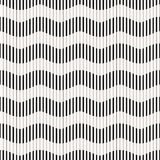 Nahtloses Muster - gestreifte Wellen Stockbilder