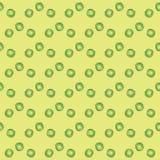 Nahtloses Muster Grüne Erbse lizenzfreie abbildung