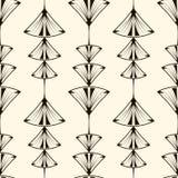 Nahtloses Muster, grafische Verzierung, moderner stilvoller Hintergrund V Stockfotografie
