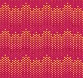 Nahtloses Muster Haftone Stockbilder