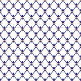 Nahtloses Muster, Hintergrund, Kobaltmasche Muster für China vektor abbildung