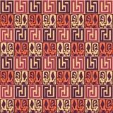 Nahtloses Muster Hintergrundelemente von Stammes- Mustern Ethnisches Muster elegante boho Stangen Boho-Chic Stockfoto
