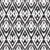 Nahtloses Muster Ikat vektor abbildung