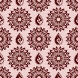 Nahtloses Muster im boho style4 lizenzfreie abbildung