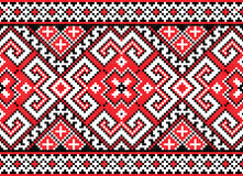 Nahtloses Muster im Rot lizenzfreie abbildung