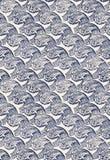 Nahtloses Muster Japan-Welle Lizenzfreie Stockfotos