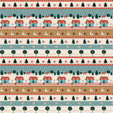 Nahtloses Muster kann für Tapete, Musterfüllen, Webseitenhintergrund, Oberflächenbeschaffenheiten benutzt werden Stockbilder