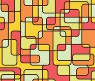 Muster backgroumd der Quadrate und der Rechtecke lizenzfreie abbildung