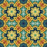 Nahtloses Muster Masjid Stockfoto