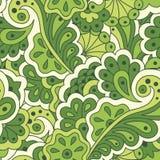 Nahtloses Muster mit abstrakten Blumen Lizenzfreie Stockfotos