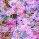 Nahtloses Muster mit Aquarell Lizenzfreies Stockfoto
