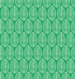 Nahtloses Muster mit Blättern Stockfotografie