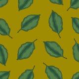 Nahtloses Muster mit Blättern, bunter Hintergrund des Herbstes Stockfotos